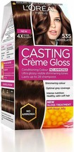 L'Oreal Paris Casting Creme Gloss Hair Color, Chocolate 535, 87.5g+72ml - $23.00