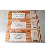 3 Kenny Rogers Ticket Stub Unused Austin Texas 1986 - $19.79