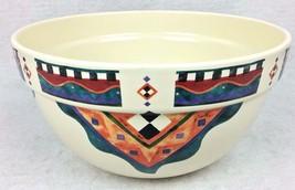 "TREASURE CRAFT Mixing Bowl 10.5"" Karen Lee Montgomery 1996 Southwest SER... - $519,38 MXN"