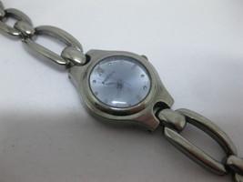 Women's Fossil F2 Purple Dial ES9014 Gun Metal 22mm Quartz Wristwatch  - $29.69