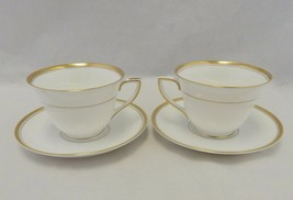 Royal Worcester England 2 Viceroy Cup and Saucer Sets - $23.76