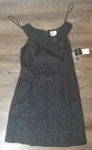 New with tags Sleeveless R&K Black floral print dress - Size 12 - $9.49
