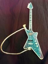 1985 1986 Hasbro Aja Doll Blue Electric Guitar Jem & The Holograms - $12.50