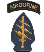 Army Airborne Special Operations Command Embroidered Patch - $16.24