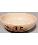 """Hall China 9"""" Bowl Jewel Tea Autumn Leaf Vintage by Mary Dunbar - $22.72"""