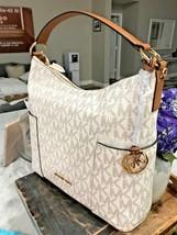 Michael Kors Signature Anita Large Convertible Shoulder Hobo Bag - Add a... - $169.74