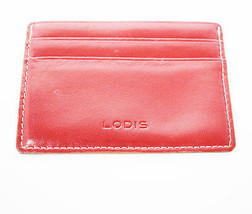 Lodis Leather Card Holder Wallet with ID Slot - $22.97