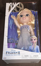 Disney Frozen II 14 inch Elsa The Snow Queen Doll with Shoes New - $29.39