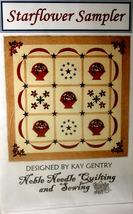 """Quilt Pattern 13 """"Starflower Sampler"""" - $4.99"""