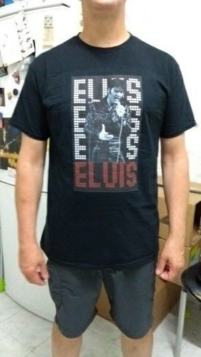 Elvis Presley PEACOCK Licensed Adult T-Shirt All Sizes