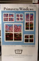 """Quilt Pattern """"Primavera Windows"""" 50"""" x 49"""" - $4.99"""
