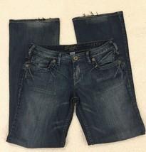 Silver Jeans 30 Inseam 33 Faith Distressed Boot Cut Denim - $19.79