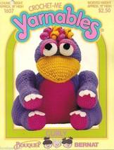Yarnables crochet pattern CURLY stuffed animal toy - $17.77