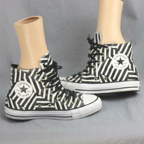 Converse Tout Étoile Chuck Tailleur Géométrique Rayé Échantillon Shoes Hommes 6 image 4