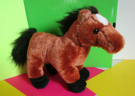 "Ganz Webkinz 10"" Brown Horse Pony Plush Toy - $5.79"