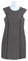 J Crew Women's Cap Sleeve Dress in Printed Matelasse Wear to Work 0 J7992 - $82.79