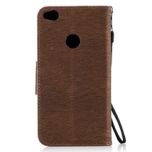 Imprinted Bear Leather Wallet Cell Phone Case for Huawei P8 Lite (2017) ... - $5.43