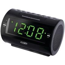 JENSEN JCR-210 AM/FM Dual-Alarm Clock Radio - $36.40