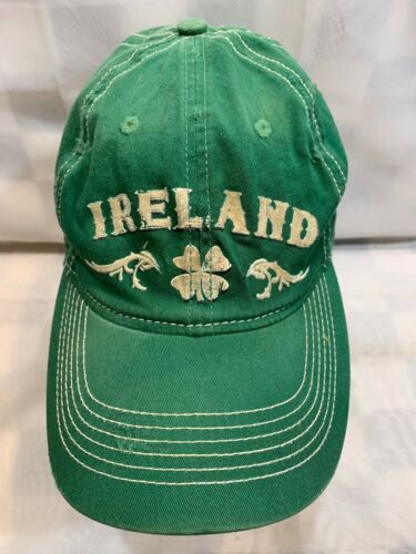 Primary image for Ireland Shamrock Green St Patricks Day Fitted OSFM Adult Baseball Ball Cap Hat