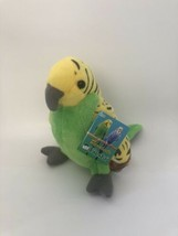 "Fiesta Parakeet Plush Green & Yellow 6"" New - $16.95"