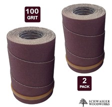 Drum Sander Sanding Wraps/Rolls, 100g for JET/Performax 16-32 & Ryobi WB... - $13.49