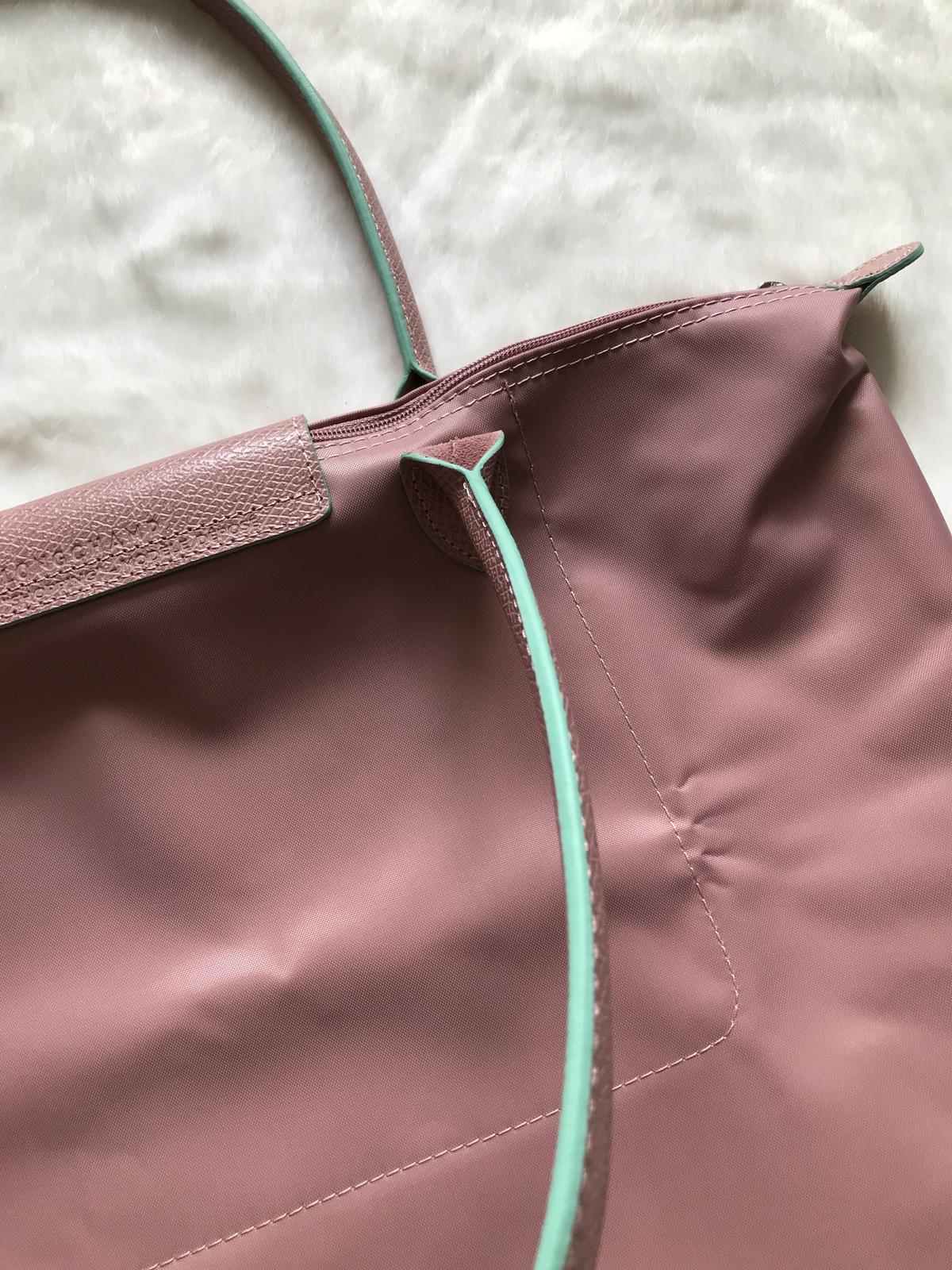 Longchamp Club Le Pliage Bag Pink Large L1899619P13