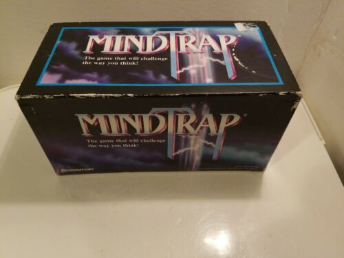 Primary image for MindTrap Card Game Factory  1996 edition by Pressman