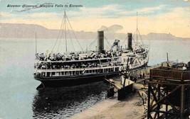 Steamer Chippewa Niagara Falls To Toronto Canada 1911 postcard - $6.44