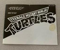 Please Read Only Manual for Teenage Mutant Ninja Turtles (Nintendo) NES - $9.00