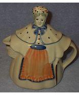Vintage Shawnee Pottery Granny Ann Figural Teapot Tea Pot - $75.00