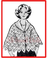 Pineapple Design Crocheted Cape * Sizes 10 to 20 - $5.99