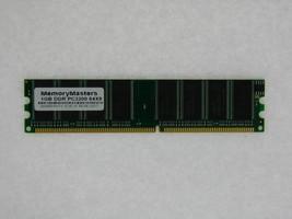 1GB DDR PC3200 Non-ECC DIMM RAM eMachines W3400 W3410 W3502 W3503 Memory