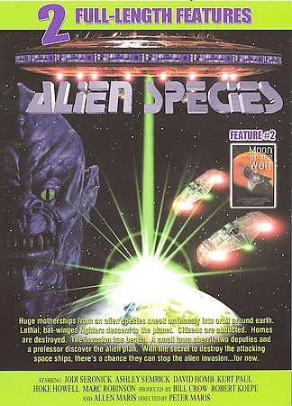 ALIEN SPECIES + Moon Of The Wolf- Sci Fi Horror NEW DVD