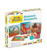 "ORB Sticky Mosaics Dinosaurs , Green/Brown/Orange/Blue , 12"" x 2"" x 10.75"" - $14.10"