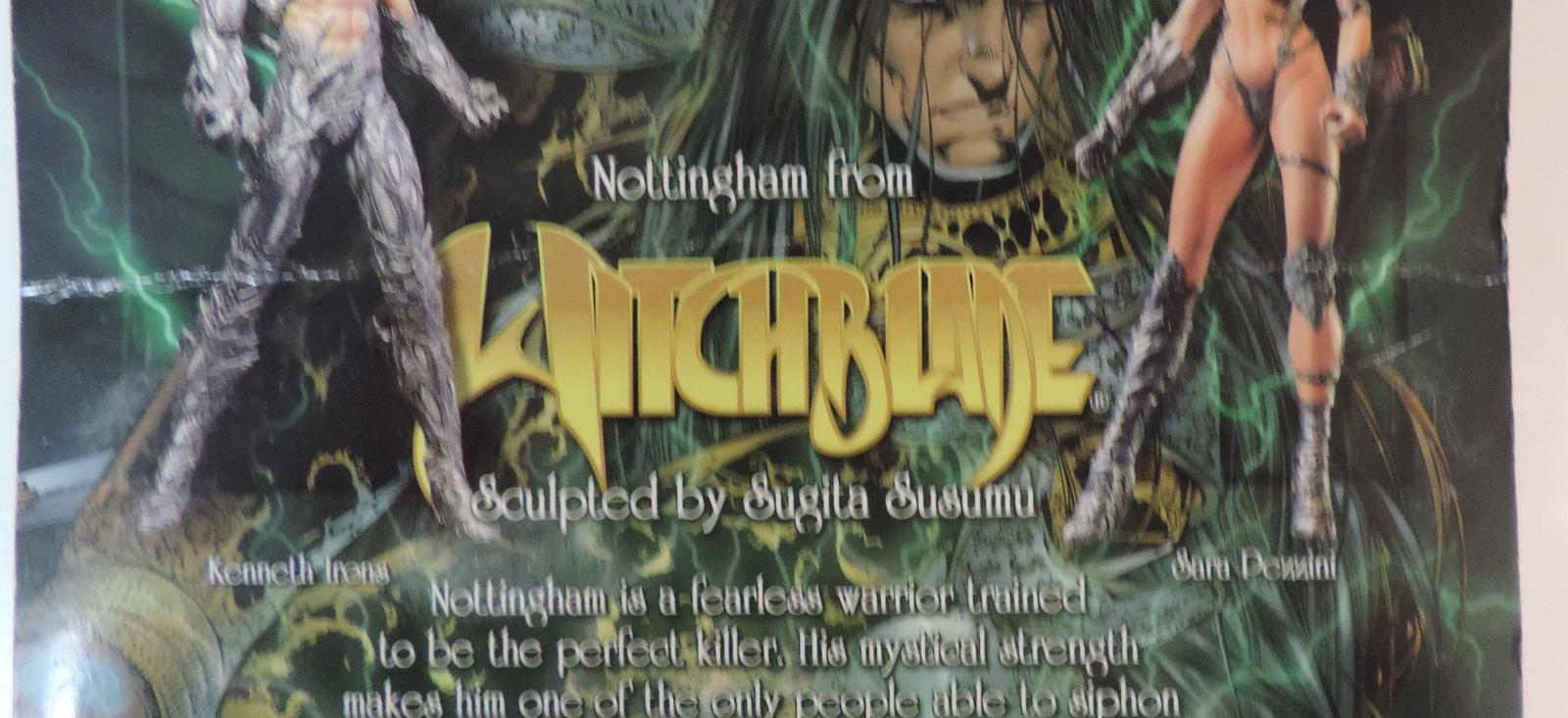 Top Cow Witchblade Ian Nottingham by Sugita Susumu  - New