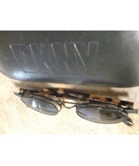 DKNY METAL AND TORTOISE EYEGLASSES + CLIP ON SH... - $44.79