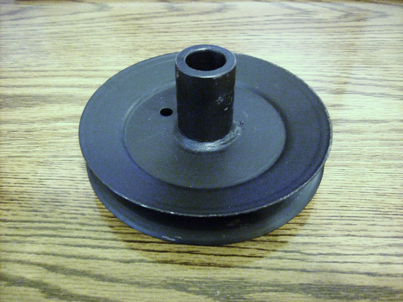 Primary image for MTD deck spindle pulley 756-0556