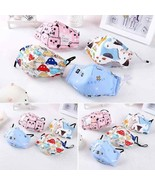 Child Face Mask With Breathable Valve Cute Designs Easy to Breath SHIPS FROM USA - $10.99
