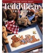 COUNTED CROSS STITCH LEISURE ARTS TEDDY BEAR TREASURY - $4.95