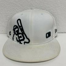 New Era San Francisco Giants Baseball Hat Men's Size 7 5/8 White MLB - $9.46