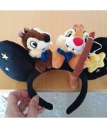 Disney Land Pari The 25th limited Chip and Dale Headband only oversea  - $92.07