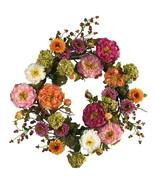 """24"""" Mixed Peony Wreath - $77.99"""