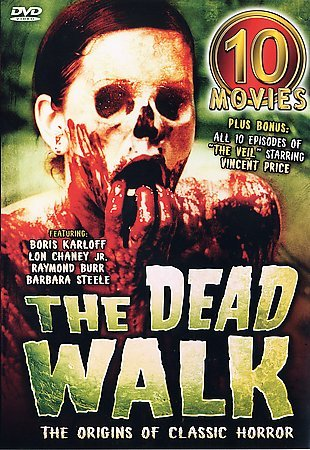 Primary image for DEAD WALK, THE: 10 Classic Zombie Horror Films - NEW 5 DVD