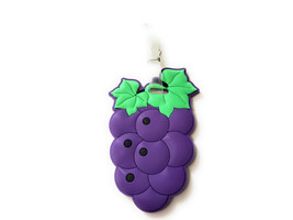 Purple Grapes~ Travel Suitcase ID Luggage Tag and Suitcase Label - $8.95