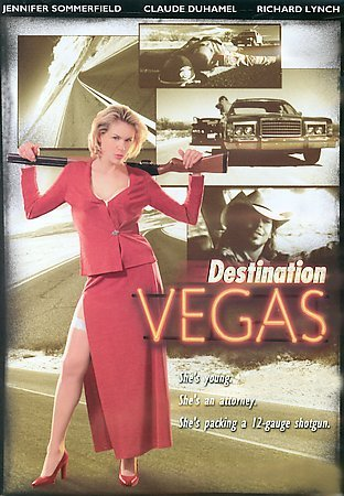 DESTINATION VEGAS - Sexy Jennifer Sommerfield - NEW DVD