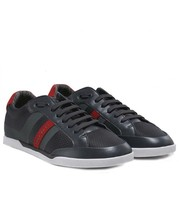 Hugo Boss Men's Premium Sport Profile Sneaker Shoes Shuttle Tenn Tech Dark Grey