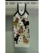 Patriotic Dogs Hanging Towel, Style 2 - $3.25