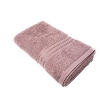 20 X LUXURY STRIPED HOTEL QUALITY 100% EGYPTIAN COTTON MAUVE BATH TOWEL ... - $157.48
