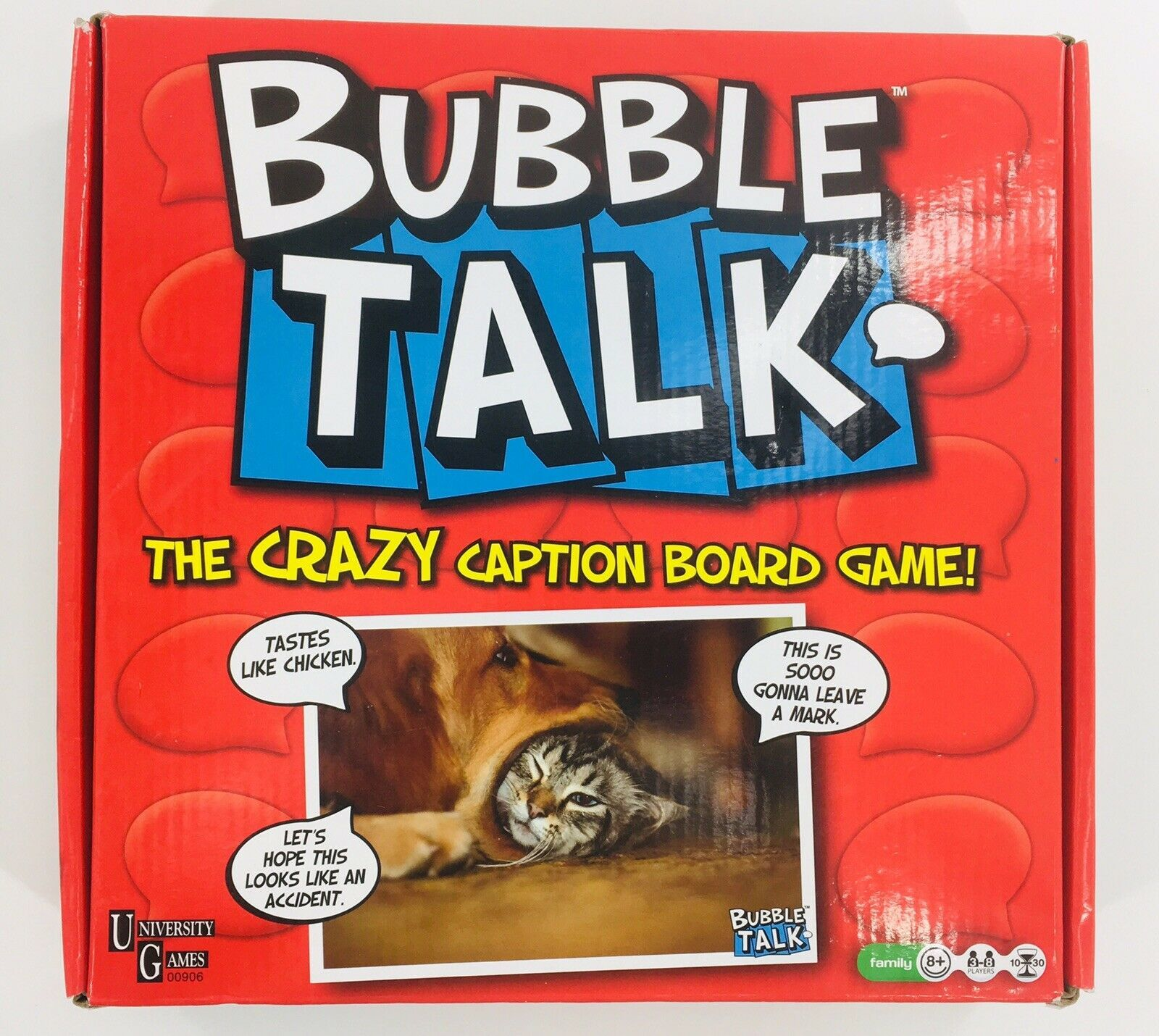 Primary image for Bubble Talk The Crazy Caption Board Game University Games