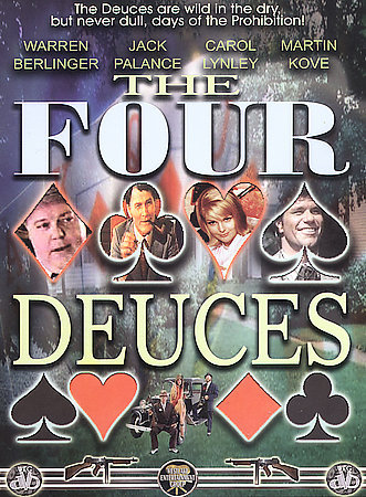 FOUR DEUCES Jack Palance NEW DVD
